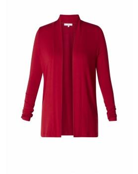 cardigan warm red