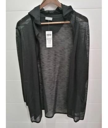jacket noire fluide