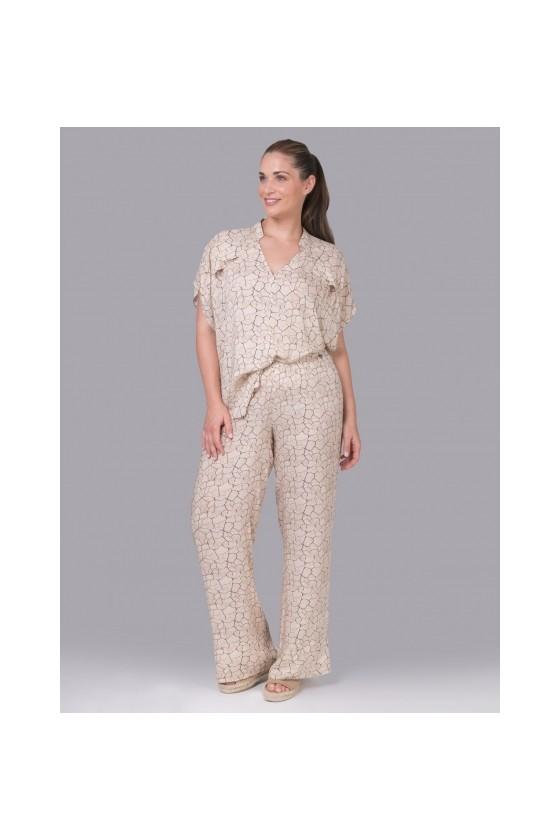 pantalon crème