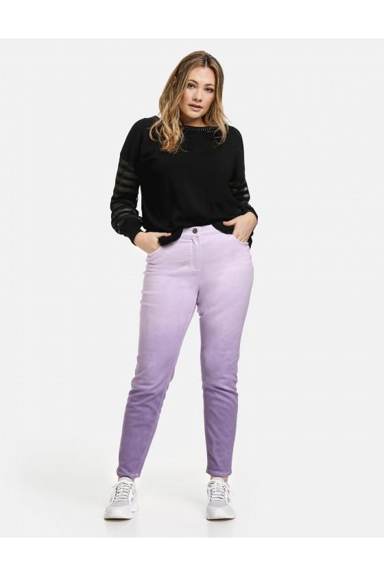 pantalon parme dégradé